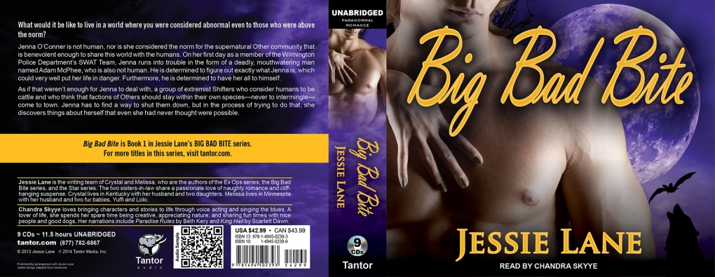 Big Bad Bite Tantor Audio Cover