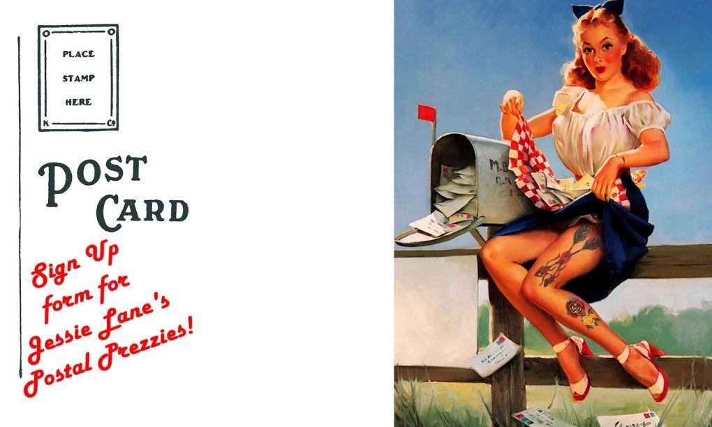 Jessie Lane's Postal Prezzies Background
