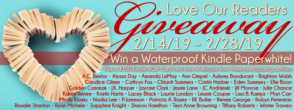 Love Our Readers Giveaway Banner
